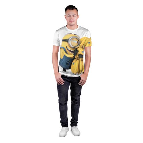 Мужская футболка 3D спортивная Банан Фото 01