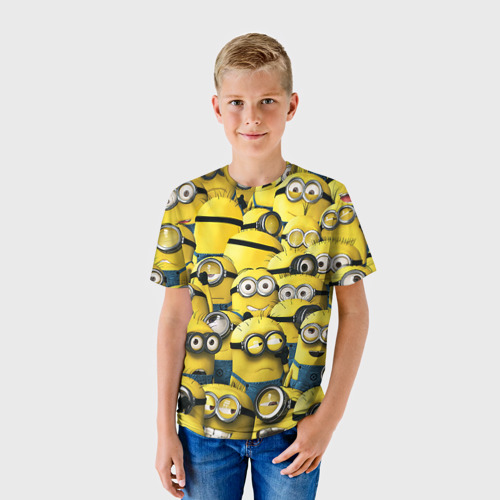 Детская футболка 3D  Фото 01, Работнички