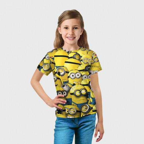 Детская футболка 3D  Фото 03, Работнички