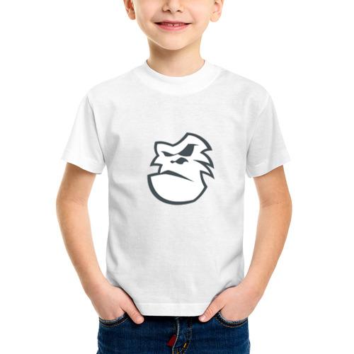 Детская футболка синтетическая Горилла