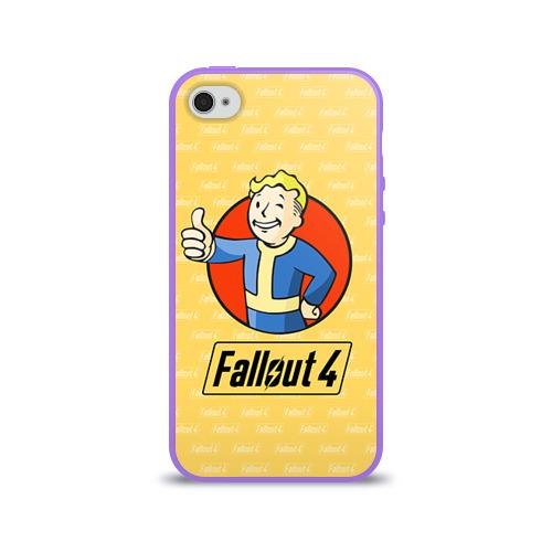 Чехол для Apple iPhone 4/4S силиконовый глянцевый  Фото 01, Fallout