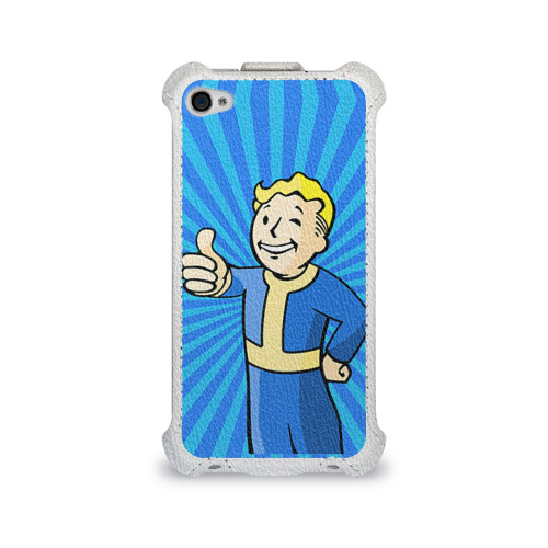 Чехол для Apple iPhone 4/4S flip Fallout