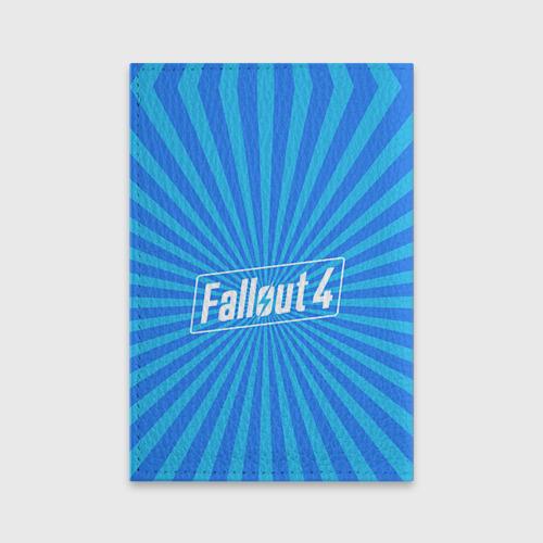 Обложка для паспорта матовая кожа  Фото 02, Fallout