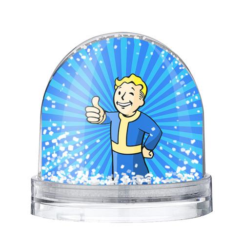 Водяной шар со снегом Fallout