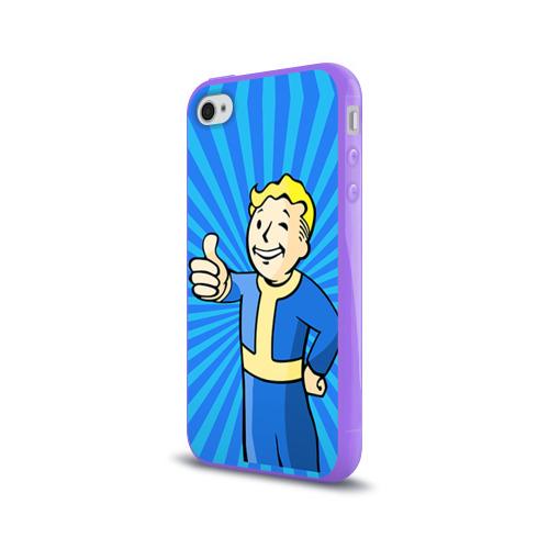 Чехол для Apple iPhone 4/4S силиконовый глянцевый  Фото 03, Fallout