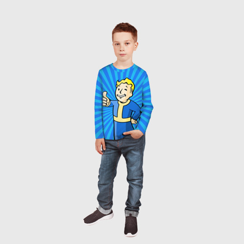 Детский лонгслив 3D  Фото 05, Fallout