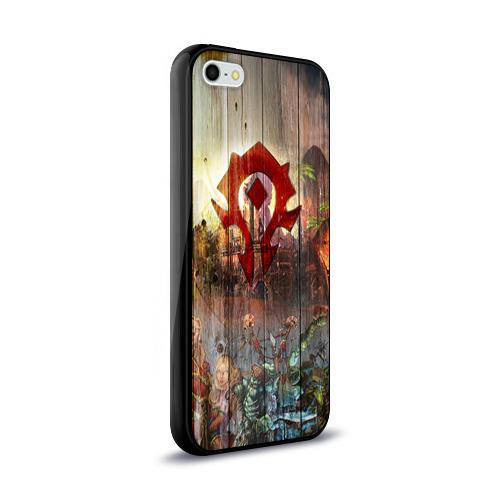 Чехол для Apple iPhone 5/5S силиконовый глянцевый Орда Фото 01