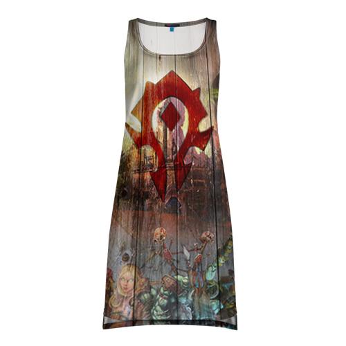 Платье-майка 3D Орда