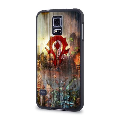 Чехол для Samsung Galaxy S5 силиконовый  Фото 03, Орда