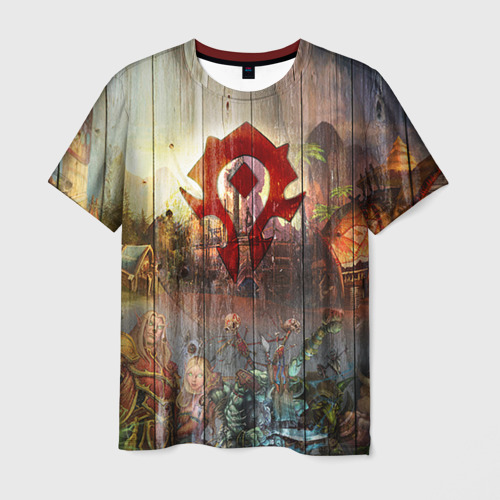 Мужская футболка 3D  Фото 03, Орда