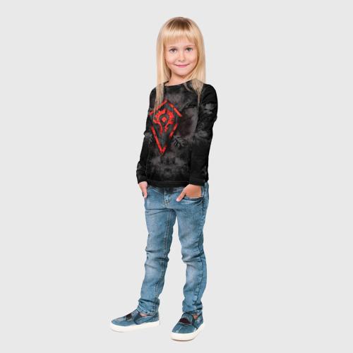 Детский лонгслив 3D  Фото 04, Орда