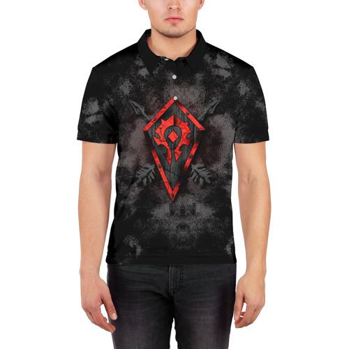 Мужская рубашка поло 3D Орда Фото 01