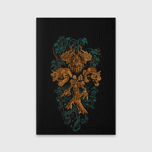 Обложка для паспорта матовая кожа  Фото 01, Друид