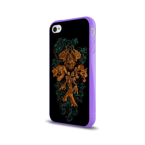 Чехол для Apple iPhone 4/4S силиконовый глянцевый  Фото 03, Друид
