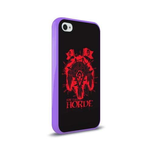Чехол для Apple iPhone 4/4S силиконовый глянцевый Horde Фото 01