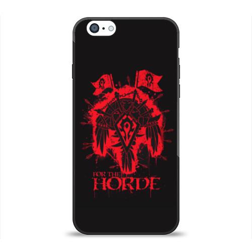 Чехол для Apple iPhone 6 силиконовый глянцевый Horde от Всемайки