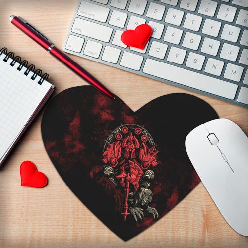 Коврик для мыши сердце  Фото 02, WOW