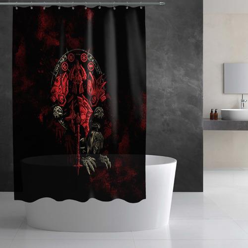 Штора 3D для ванной  Фото 02, WOW