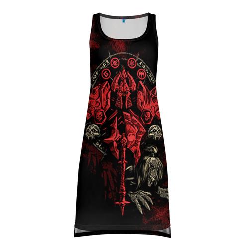 Платье-майка 3D WOW