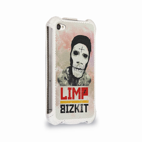 Чехол для Apple iPhone 4/4S flip  Фото 02, Limp Bizkit