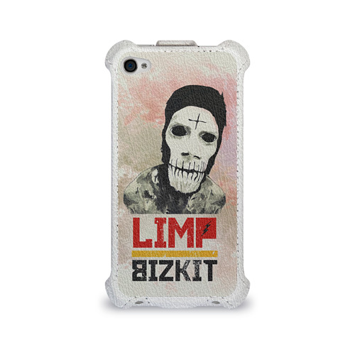 Чехол для Apple iPhone 4/4S flip  Фото 01, Limp Bizkit
