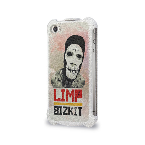 Чехол для Apple iPhone 4/4S flip  Фото 03, Limp Bizkit