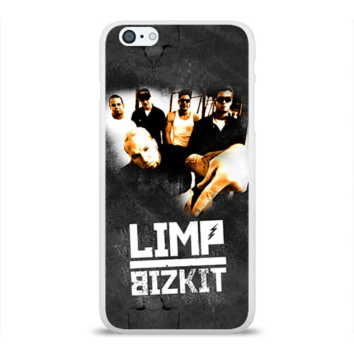 Чехол для Apple iPhone 6Plus/6SPlus силиконовый глянцевый  Фото 01, Limp Bizkit