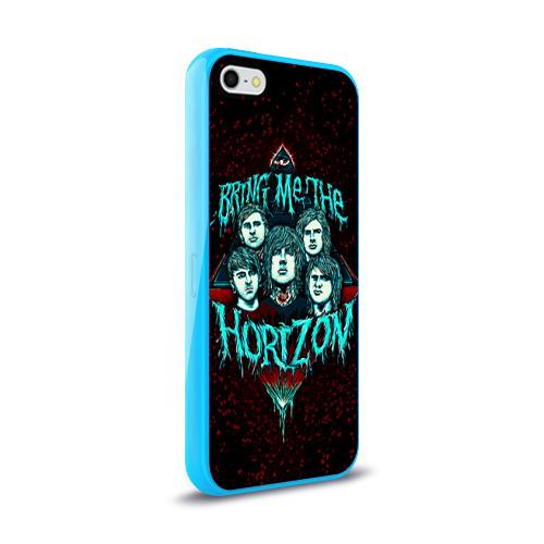 Чехол для Apple iPhone 5/5S силиконовый глянцевый  Фото 02, Bring Me The Horizon