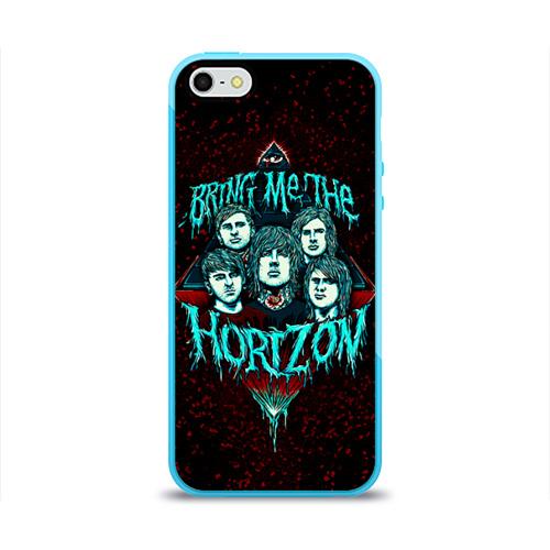 Чехол для Apple iPhone 5/5S силиконовый глянцевый  Фото 01, Bring Me The Horizon