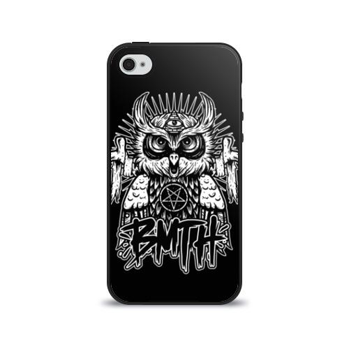 Чехол для Apple iPhone 4/4S силиконовый глянцевый Bring Me The Horizon от Всемайки