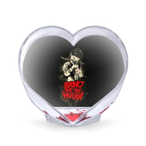 Сувенир Сердце Bring Me The Horizon от Всемайки