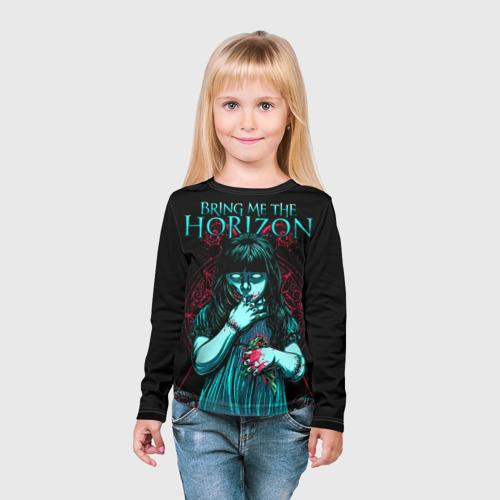 Детский лонгслив 3D Bring Me The Horizon Фото 01