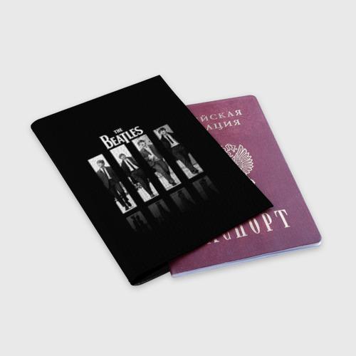 Обложка для паспорта матовая кожа  Фото 03, The Beatles