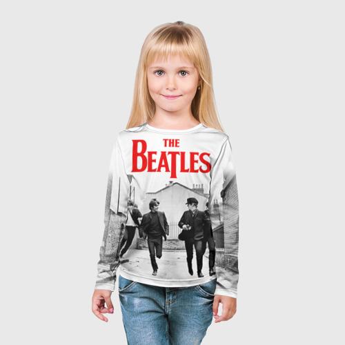 Детский лонгслив 3D  Фото 03, The Beatles