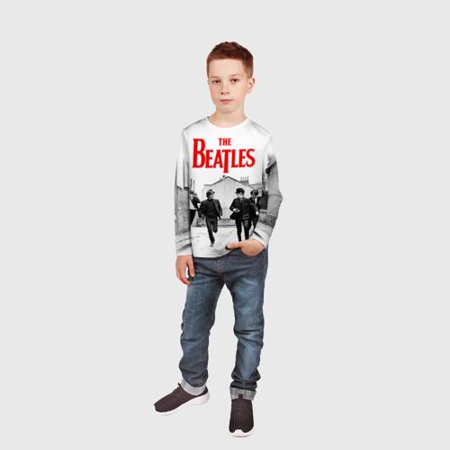 Детский лонгслив 3D  Фото 05, The Beatles