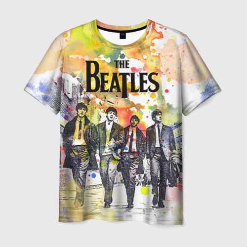 Мужская футболка 3D The Beatles Фото 01