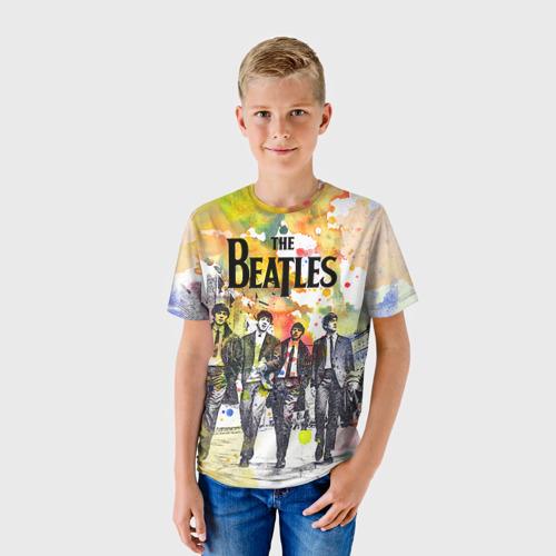 Детская футболка 3D The Beatles
