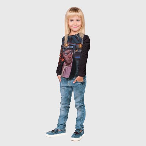 Детский лонгслив 3D  Фото 04, Назад в будущее
