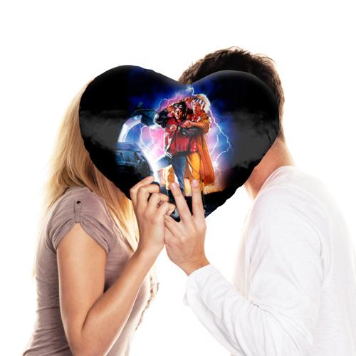 Подушка 3D сердце  Фото 03, Назад в будущее