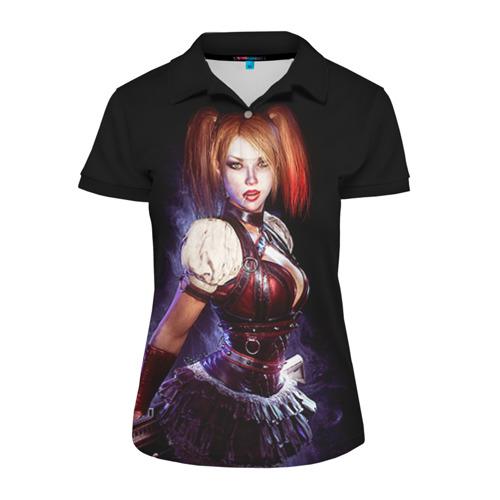 Женская рубашка поло 3D Харли Квинн