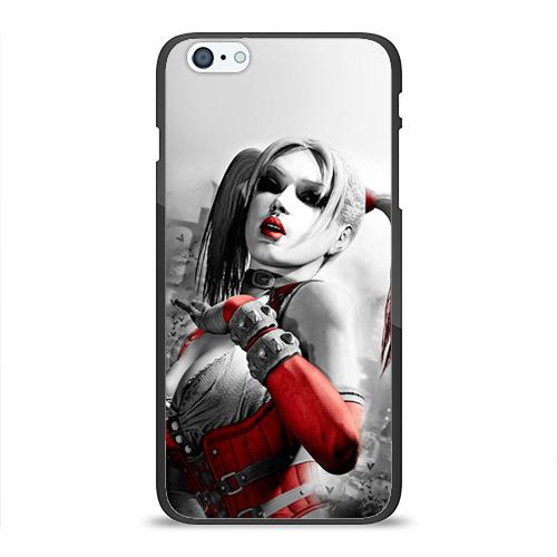 Чехол для Apple iPhone 6 Plus силиконовый глянцевый Харли Квинн от Всемайки