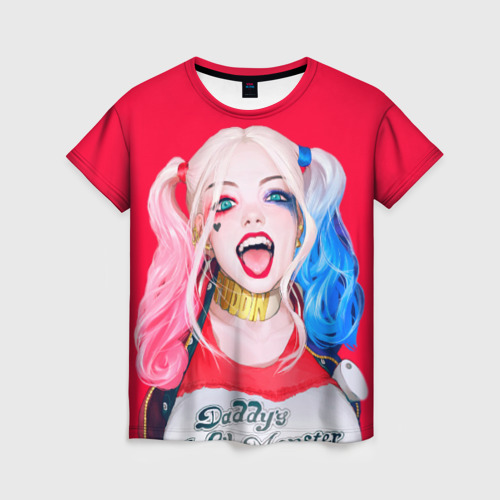 Женская футболка 3D Харли Квинн от Всемайки