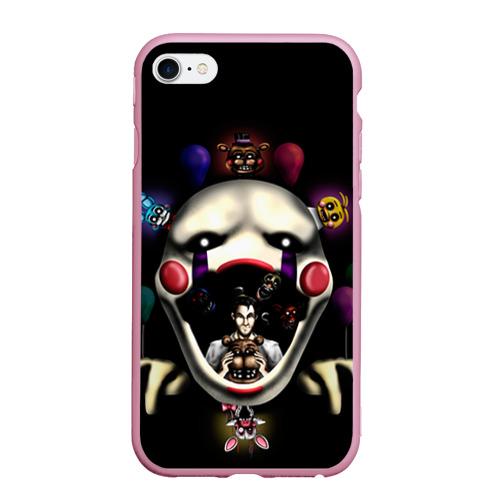Чехол для iPhone 6Plus/6S Plus матовый Five Nights At Freddy's Фото 01