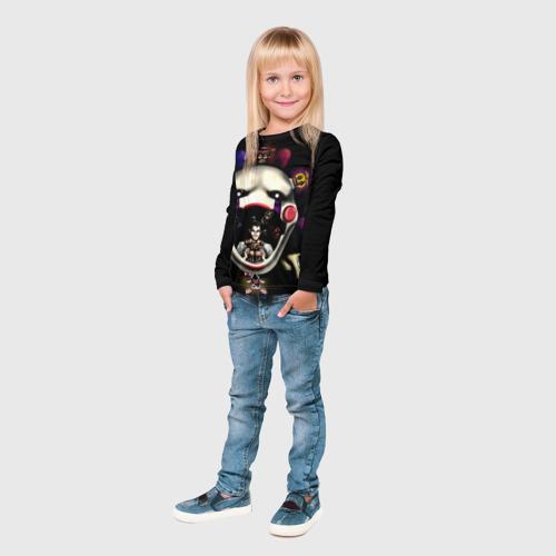 Детский лонгслив 3D  Фото 04, Five Nights At Freddy's
