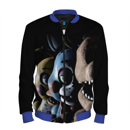 Мужской бомбер 3D Five Nights At Freddy's