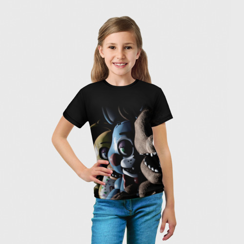 Детская футболка 3D Five Nights At Freddy's Фото 01