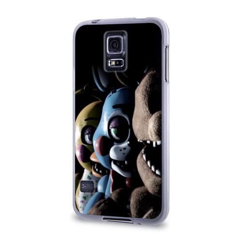 Чехол для Samsung Galaxy S5 силиконовый  Фото 03, Five Nights At Freddy's