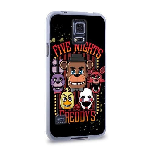 Чехол для Samsung Galaxy S5 силиконовый  Фото 02, Five Nights At Freddy's