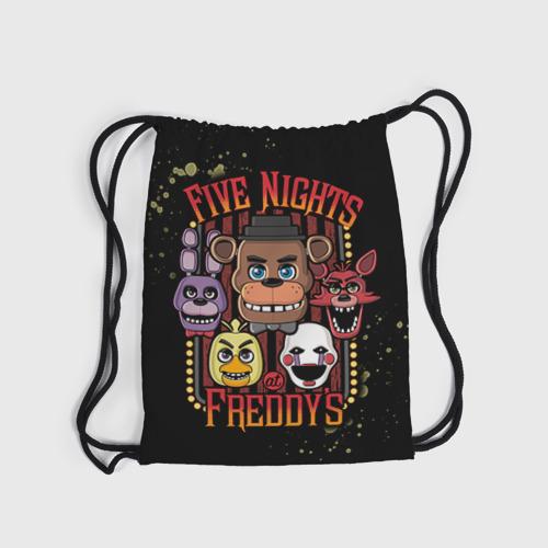 Рюкзак-мешок 3D Five Nights At Freddy's Фото 01