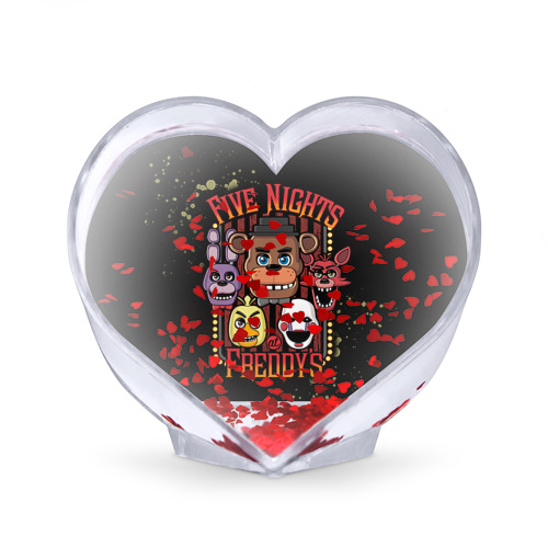 Сувенир Сердце  Фото 02, Five Nights At Freddy's